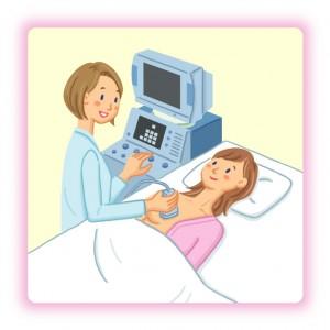 乳腺エコー検査